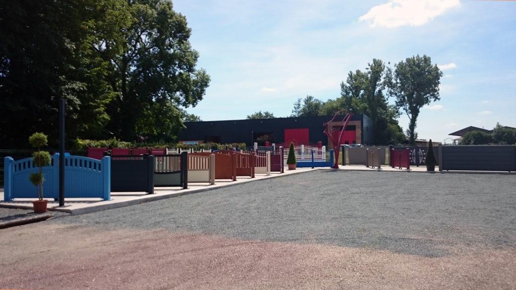 L'exposition de portails à Roumare