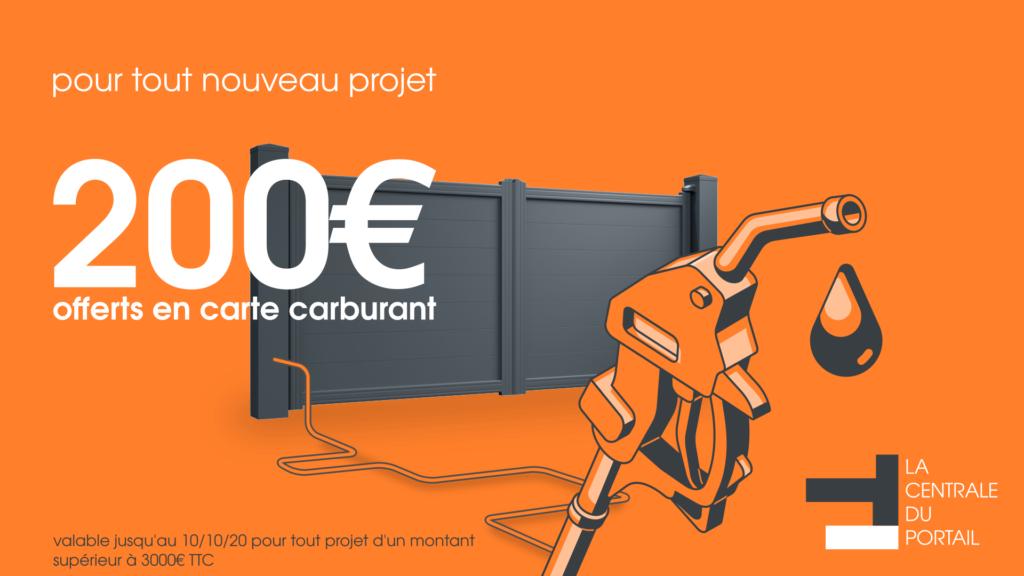 promo portail alu 200€ offerts